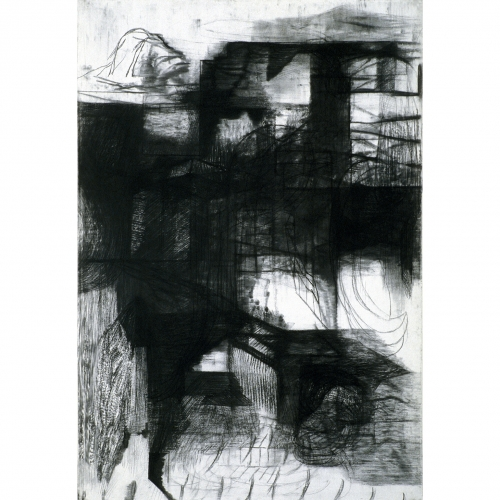 1995 Untitled no. 5 | 75,5 x 110 cm | charcoal on paper