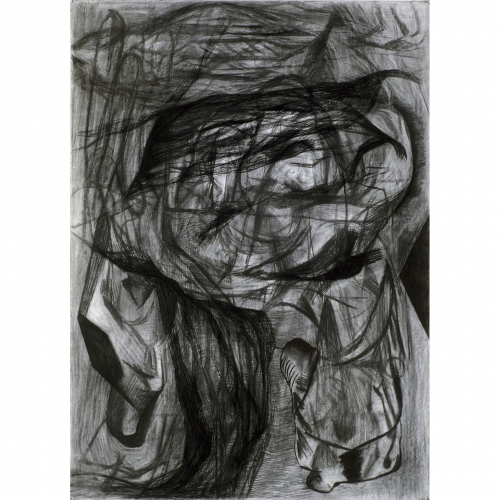 1995 Untitled no. 2 | 78,5 x 109 cm | charcoal on paper